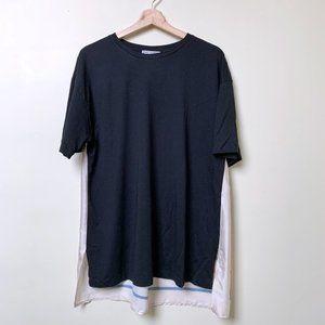 Zara Silky Scarf Back T-shirt